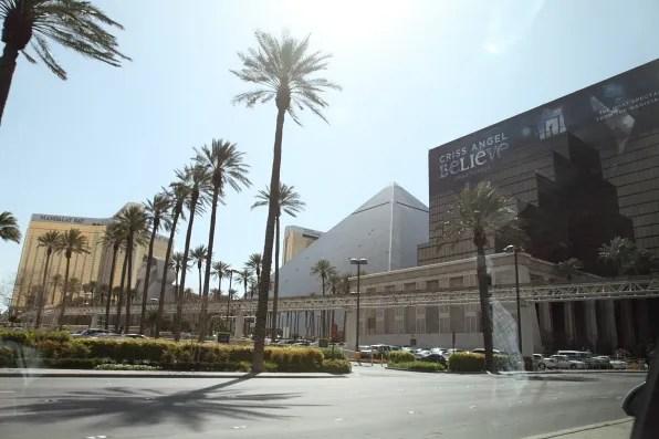 Luxor Pyramid, Las Vegas