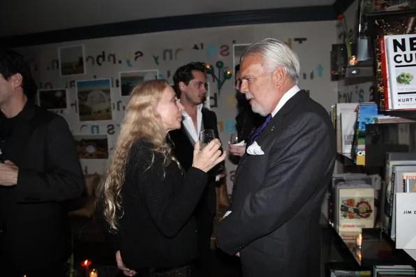 Franca Sozzani at Lifestyle Mirror launch