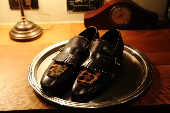 Louis Leeman Paris shoes fall winter 2012 leopard and leather