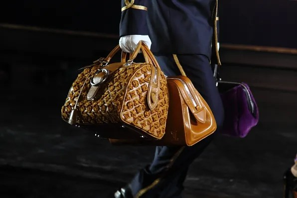 Louis Vuitton fashion show bags fall winter 2012