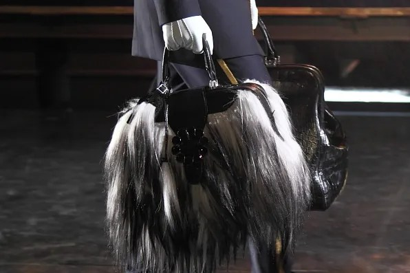 A bag from the fall/winter 2012 Louis Vuitton collection