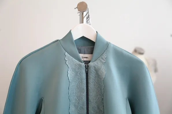 Teal jacket by Lover Australia
