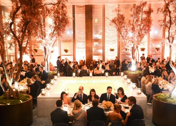 The crowd at the Memorial Sloan-Kettering Cancer Center fall 2012 party