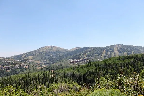 View from the top of Park City Mountain Resort