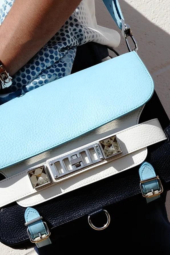 Blue Proenza Schouler PS11 bag