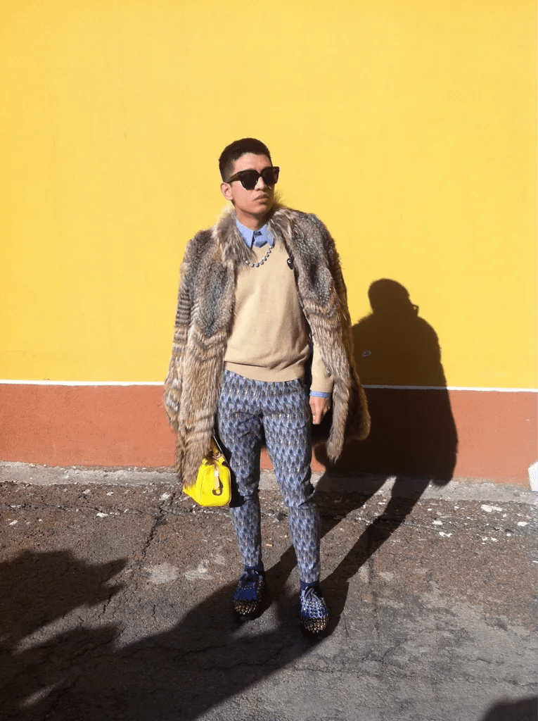 Bryanboy outside Marni fall/winter 2012