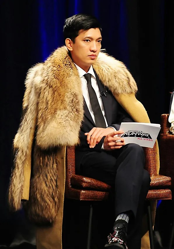 bryanboy judging at project runway Korea