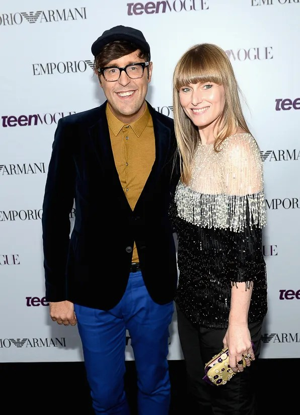 Andrew Bevan and Amy Astley at the 2013 Teen Vogue Magazine Young Hollywood Party in Los Angeles, CA