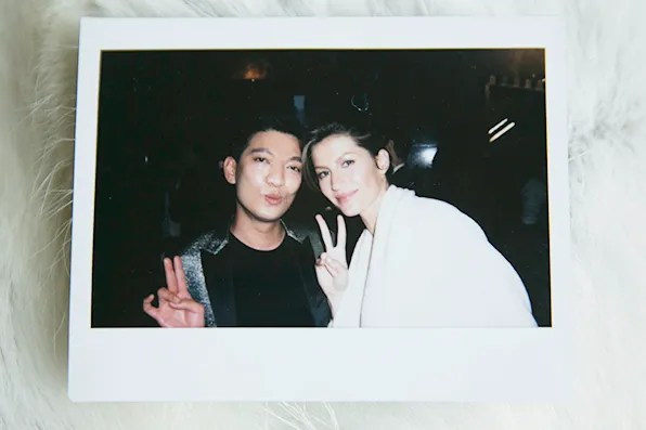 Bryanboy and Gisele Bundchen in New York