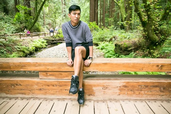 Bryanboy at Muir Woods, California