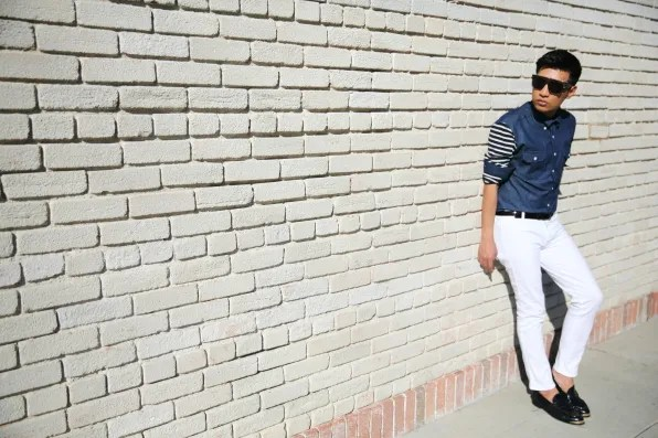 Bryanboy in MiH jeans
