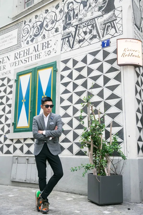 Bryanboy in Zurich, Switzerland