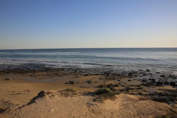 Crystal Cove State Park Beach, Orange County, California
