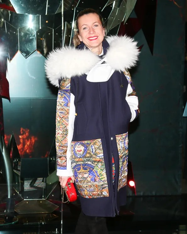 Natalie Joos at Just Cavalli NYC Soho store opening