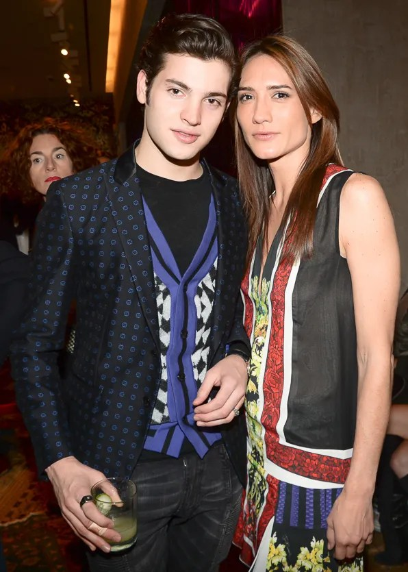 Peter Brant Jr and Zani Gugelmann