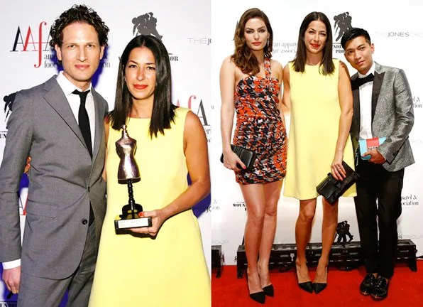 Rebecca Minkoff at 2013 AAFA American Image Awards