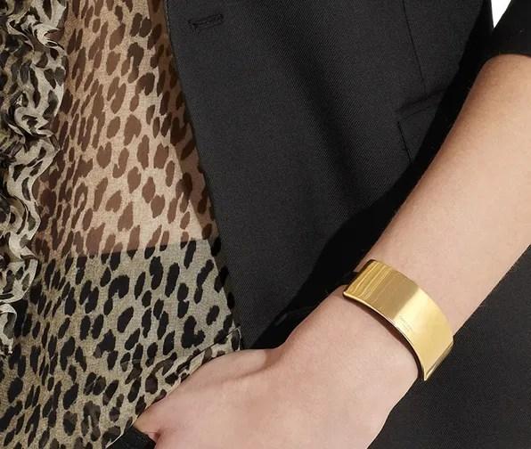 Saint Laurent Paris bracelet