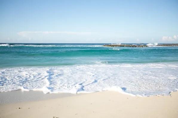 Bahamas white sand