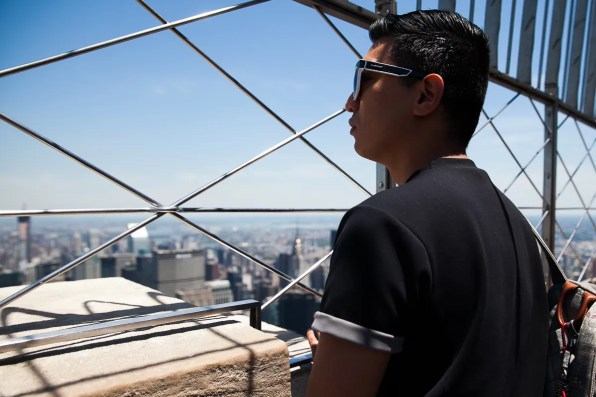 Bryanboy at the Empire State Building, New York City