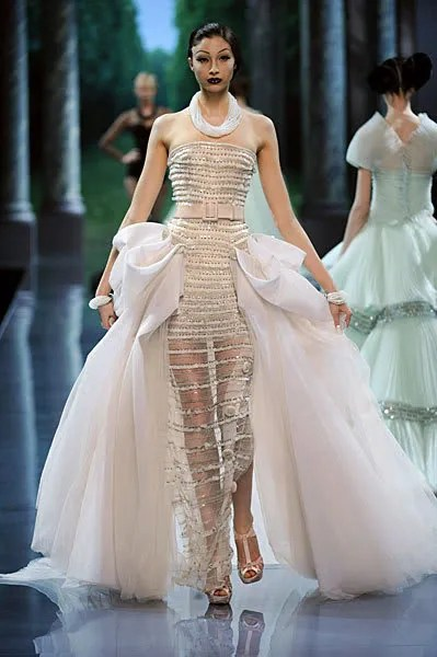 Alexandra Agoston, Christian Dior Haute Couture Autumn/Winter 2008 2009