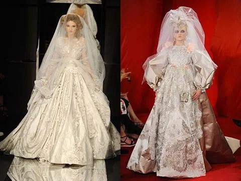 Elie Saab, Christian Lacroix Haute Couture Fall Winter 2008 2009 Paris