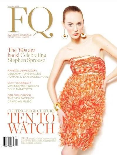 FQ Magazine Canada Spring 2009
