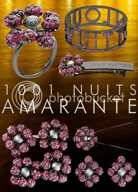 Louis Vuitton 1001 Nuits Amarante Collection