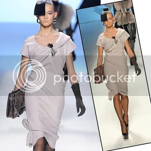 Louis Vuitton Asymetric Dress