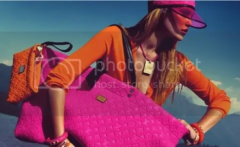 Louis Vuitton Cruise 2009 Ad Campaign