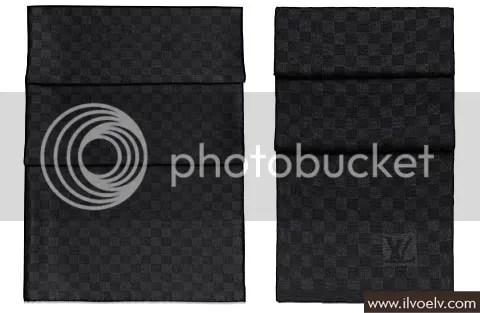 Louis Vuitton Damier Graphite Scarves