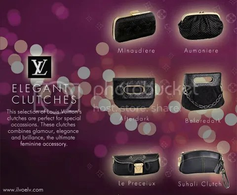 Louis Vuitton's Elegant Clutches