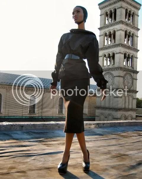 Fatima Siad Wears Vuitton