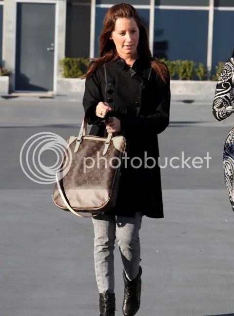 Ashley Tisdale with Monogram Odéon