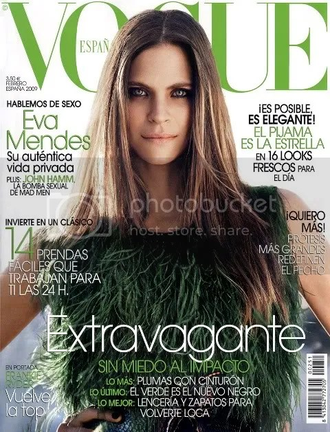 Vogue España February 2009: Frankie Rayder