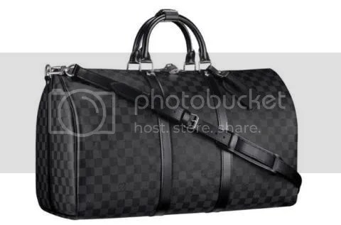 Louis Vuitton Damier Graphite Keepall 55