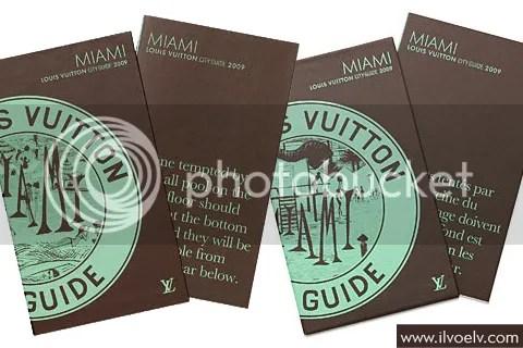 Louis Vuitton City Guide 2009: Miami