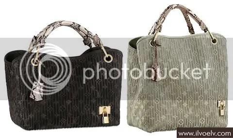 Louis Vuitton Monogram Suede Embossed Whisper