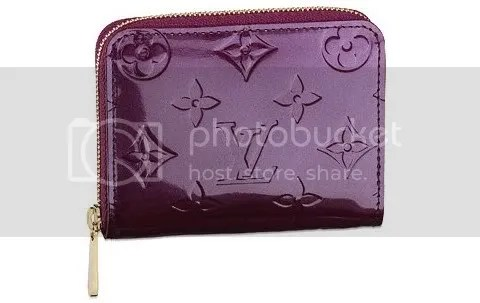 Louis Vuitton Zippy Coin Purse in Vernis