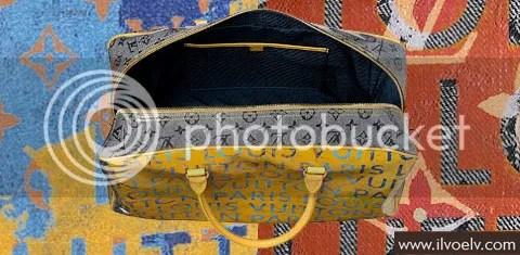 Louis Vuitton Monogram Pulp Weekender