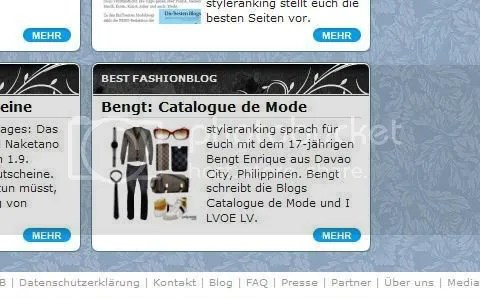 Bengt and I LVOE LV Featured at Styleranking