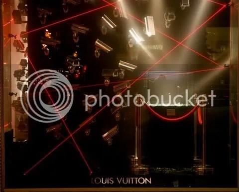 Louis Vuitton Fifth Avenue New York Window Display