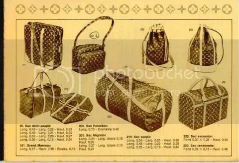 Vintage Louis Vuitton Catalog Part 1