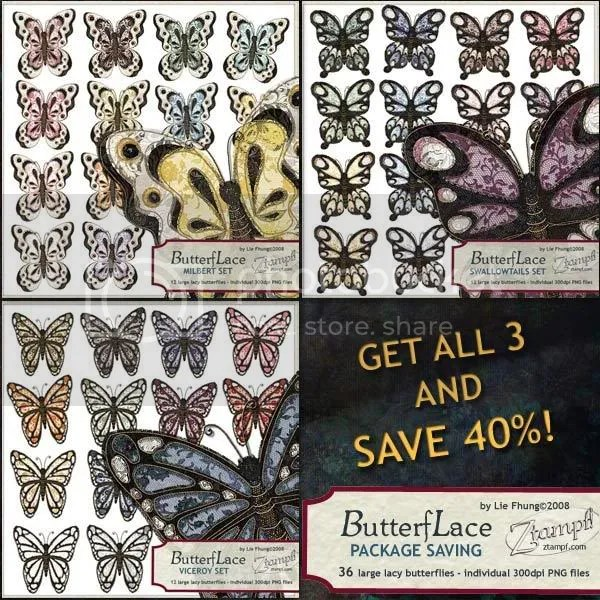 Ztampf! ButterfLace Package Saving
