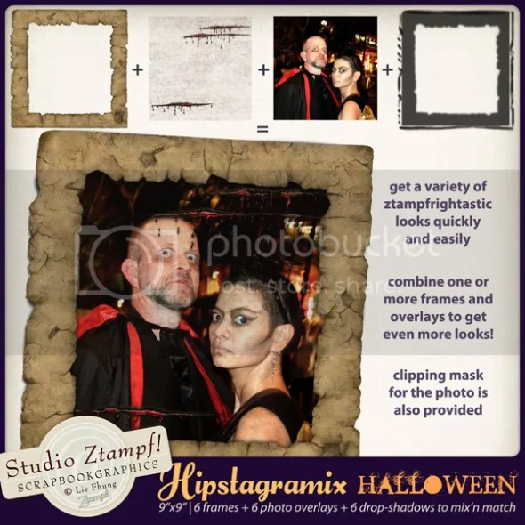 Hipstagramix Halloween at http://shop.scrapbookgraphics.com/Hipstagramix-Halloween-Photo-Edges-Overlays-Shadows.html