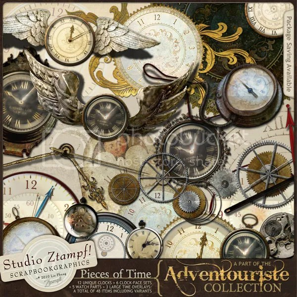 Adventouriste Pieces of Time