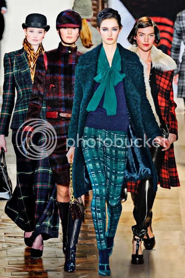 Plaid Trend Trendy Fashion