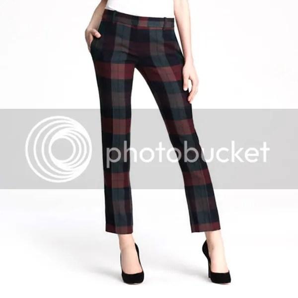 Plaid Trend Trendy Fashion Bottom Bottoms Pants
