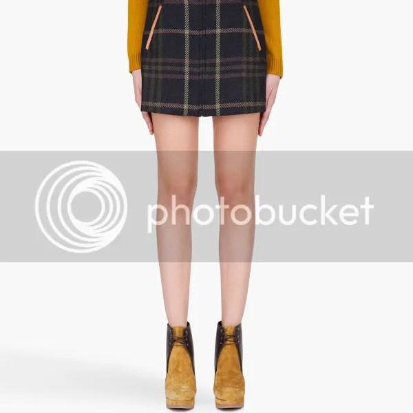 Plaid Trend Trendy Fashion Skirt