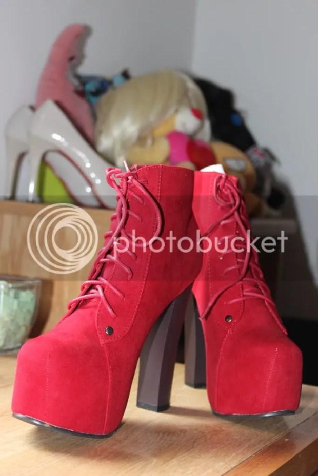 Red Lita Boots