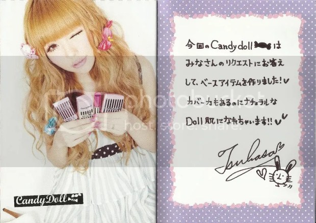Candy Doll Makeup Book